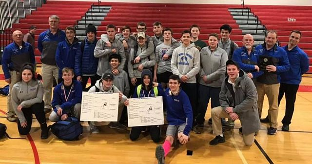 KVAC Wrestling Championship Runners Up